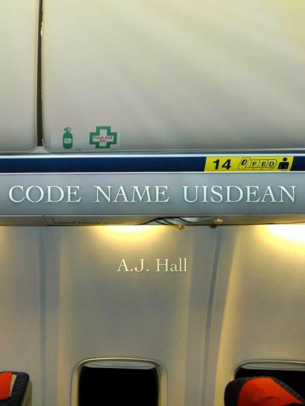 Code Name Uisdean book cover