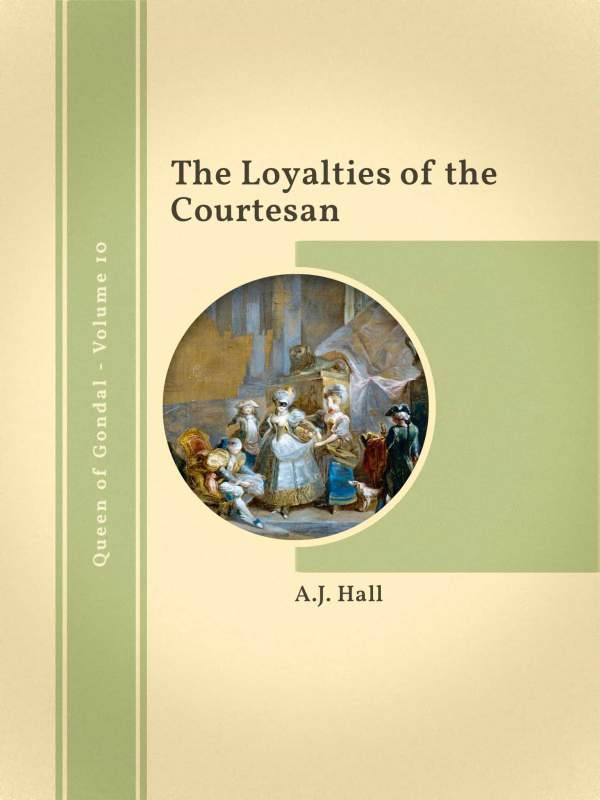 The Loyalties of the Courtesan book cover